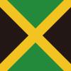 ジャマイカの国旗のアイコンマーク