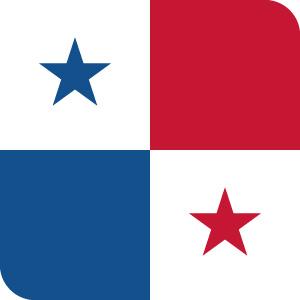 パナマの国旗のアイコンマーク