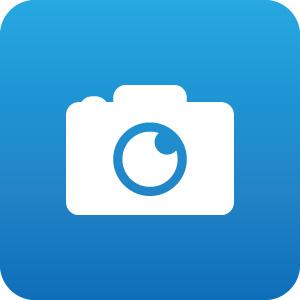 カメラのアイコンマーク