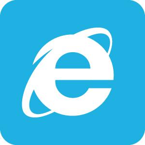 インターネットエクスプローラー IE Internet Explorer アイコンマーク