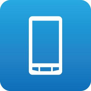 スマートフォンのアイコンマーク