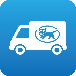 ヤマト運輸のトラックアイコンマーク