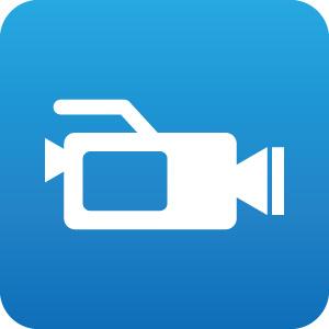 ビデオカメラのアイコンマーク