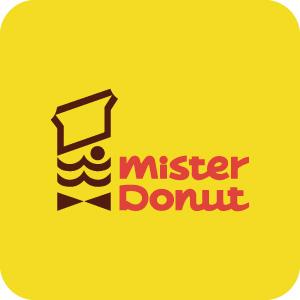 ミスタードーナツのアイコンマーク