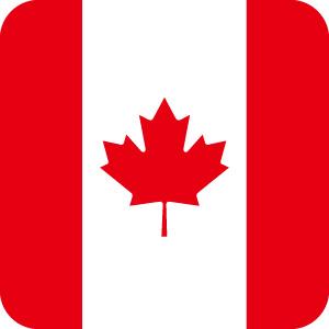 カナダの国旗のアイコンマーク