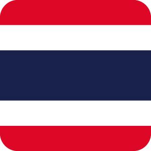 タイの国旗のアイコンマーク